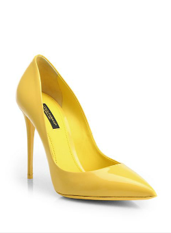 Dolce & Gabbana  - Kate Patent Leather Pumps