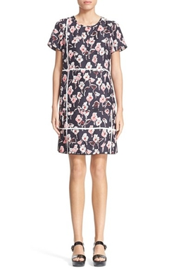 Marc Jacobs - Floral Print Silk Dress