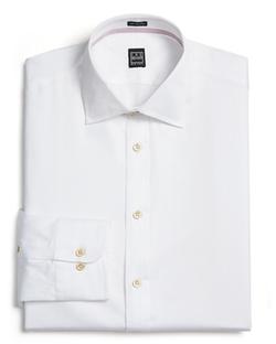 Ike Behar - Diagonal Twill Dress Shirt