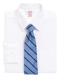 Brooks Brothers - Traditional Fit Point Collar Dress Shirt