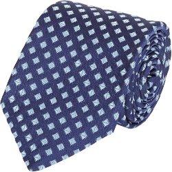 Isaia  - Diamond-pattern Neck Tie