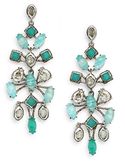 Alexis Bittar - Crystal Chandelier Drop Earrings