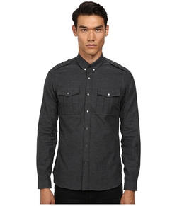 The Kooples  - Melton Flanelle Shirt