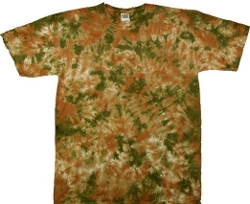 Tie Dyed Shop  - Camouflage Crinkle Tie Dye T Shirt