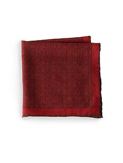 ISAIA  - Vine Cotton Pocket Square