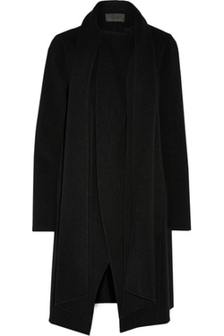 Donna Karan New York -  Draped Cashmere Coat