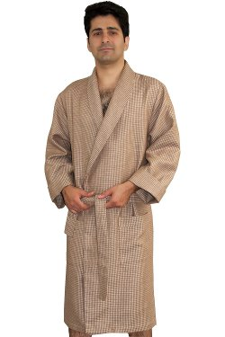 Armani International - Luxury Waffle Robe Bathrobe