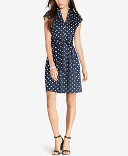 Lauren Ralph Lauren - Polka-Dot Shirt Dress