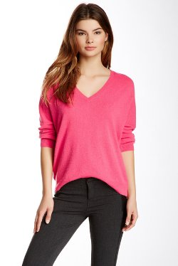 Minnie Rose  - Cashmere Everyday V-Neck Sweater