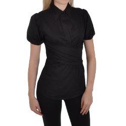 Miss Posh - Puff Sleeve Button Shirt