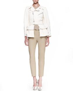 Alexander McQueen - Skinny Side-Zip Pants