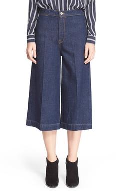 Frame Denim  - Le Culotte High Waist Gaucho Pants