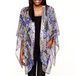 Arizona  - Print Cardigan Kimono