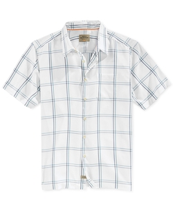 Quiksilver - Large-Plaid Button-Front Shirt
