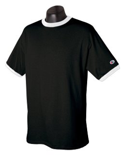 Champion - Tagless Ringer T-Shirt