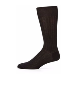 Saks Fifth Avenue Collection  - Cotton-Blend Dress Socks