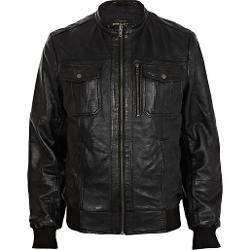 River Island - Leather Biker Jacket