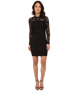 Only - Leeba Lace Long Sleeve Dress