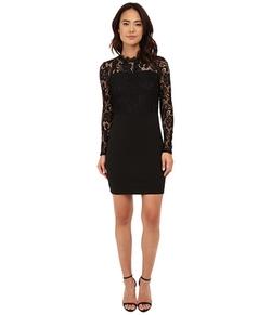 Only - Leeba Lace Long Sleeve Dress