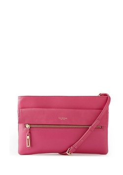 Isaac Mizrahi - Leather Paulette Crossbody Bag