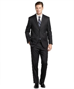 Jack Victor Studio - Charcoal Loro Piana Wool Two-button Suit