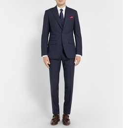 Thom Sweeney  - Weighhouse Wool Three-piece Suit