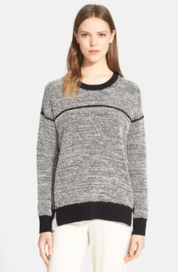 Vince  - Textured Crewneck Sweater