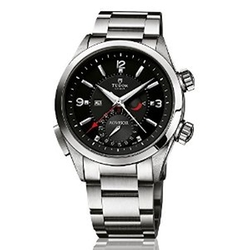 Tudor  - Heritage Advisor Black Dial Stainless Steel Mens Watch