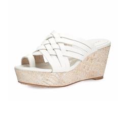 Donald J Pliner - Flore Woven Platform Wedge Sandal