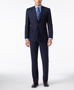 Marc New York By Andrew Marc - Slim-Fit Navy Suit