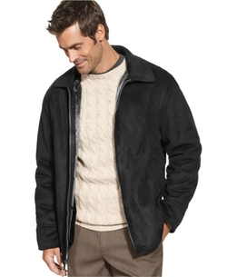 Perry Ellis  - Faux-Shearling Jacket