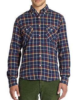 Gant Rugger -  Twill Flannel Shirt