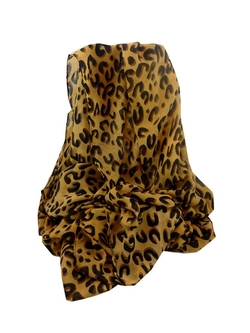 "Pashminas & Scarves  - ""Simply Chiffon Animal Print"" Long Fashion Scarf"