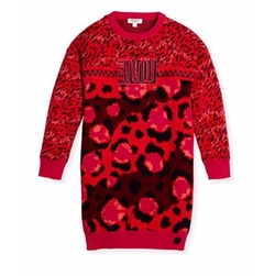 Kenzo - Printed Cotton Sweaterdress