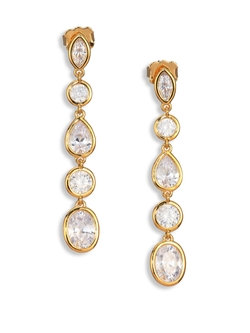 Adriana Orsini - Multi-Shape Linear Earrings