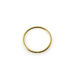 Gold Body Jewelry - Solid Gold Nose Ring