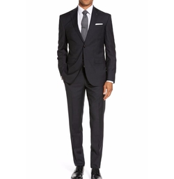 Ted Baker London - Roger Trim Fit Solid Wool Suit
