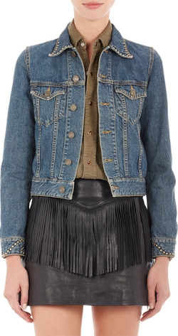 Saint Laurent  - Studded Jeans Jacket