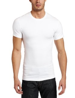 2(x)ist  - Mens Slimming Crew Neck Body Shaper Shirt