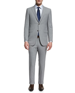 Ermenegildo Zegna  - Torino Peak-Lapel High-Performance Wool Suit