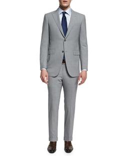 Ermenegildo Zegna  - Torino Peak-Lapel High-Performance Wool Suit