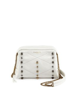 Lanvin	  - Mini Sugar Studded Crossbody Bag