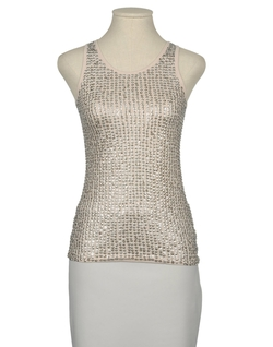 Cut It Out - Beaded Tank Top