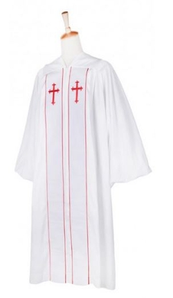 Ivory Robes - Custom Cleric Clergy Robes