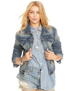 Denim & Supply Ralph Lauren - Distressed Denim Jacket
