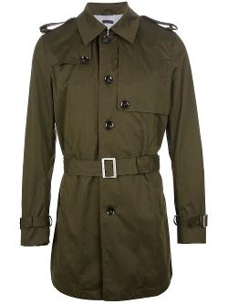 Paolo Pecora  - Belted Single Breasted Trench