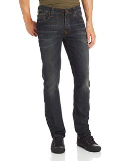 Nudie Jeans  - Grim Tim Straight Slim Jean in Organic Wornin Pepper