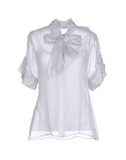 Roberta Scarpa - Bow Collar Shirt
