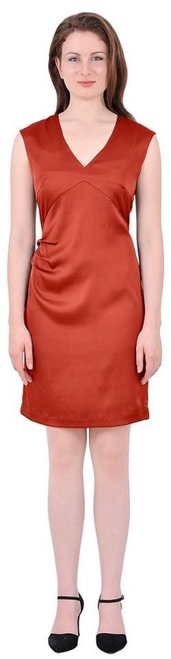 Marycrafts - Sheath Crepe Short Dress