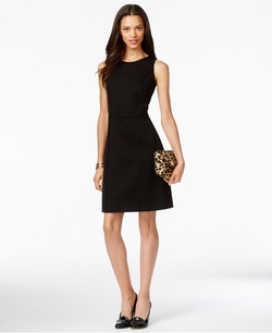 Tommy Hilfiger - Sleeveless Patterned Dress